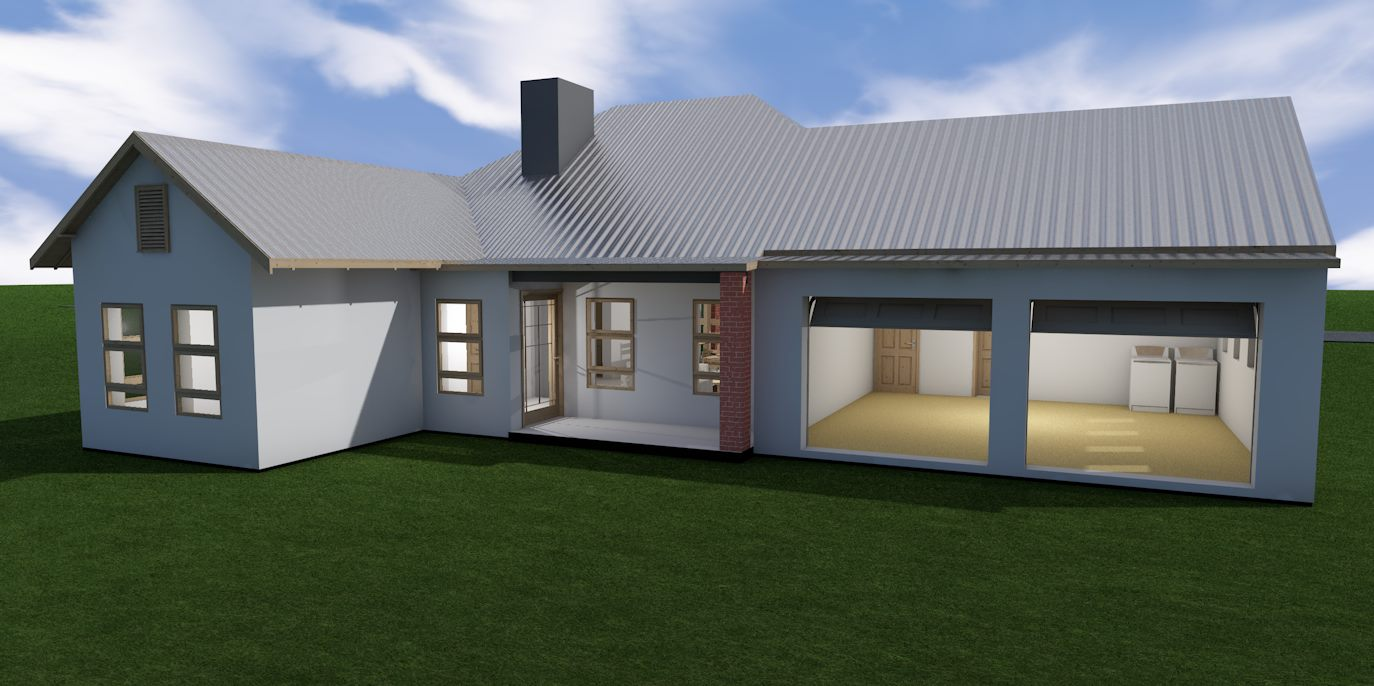 Budget Townhouse 2 Bedroom Jdp201th Sa Houseplans