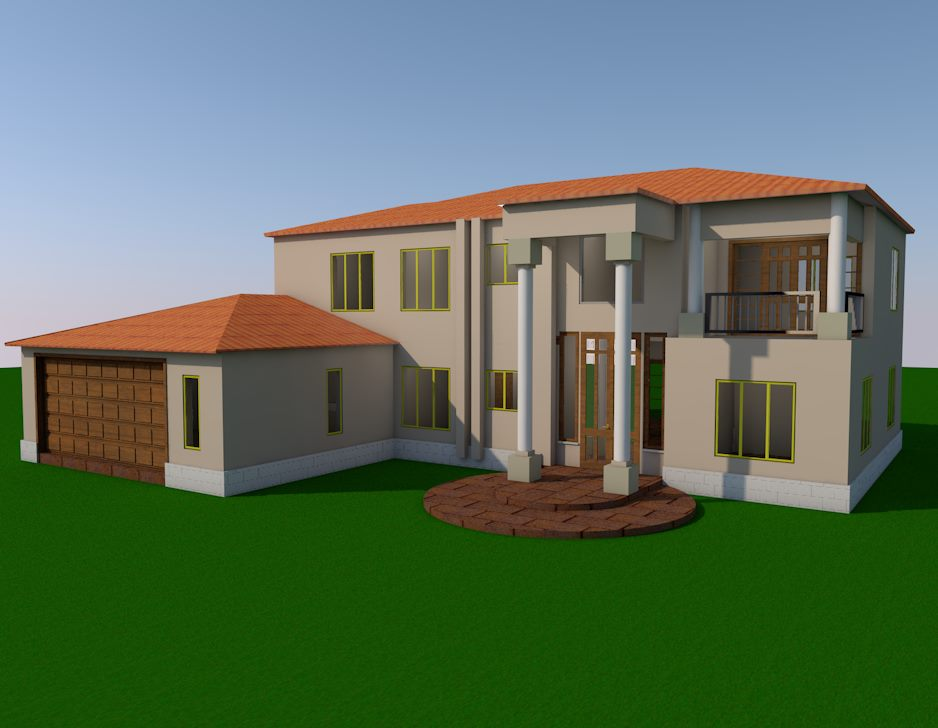 4 Bedroom Tuscan Jdp833tusc Sa Houseplans