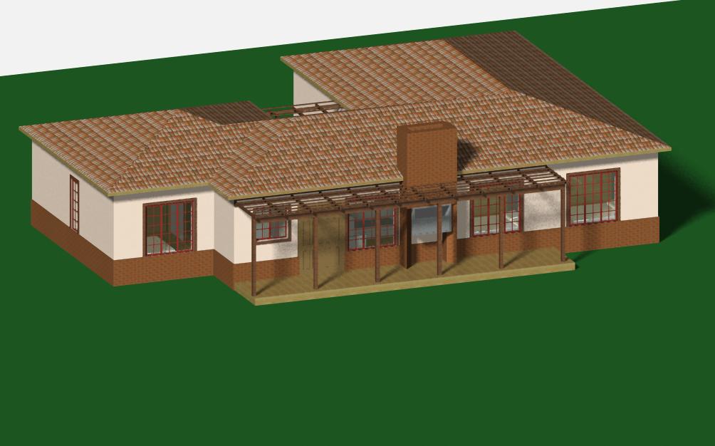 4 bedroom townhouse plan jdp842th sa houseplans for Sa home plans