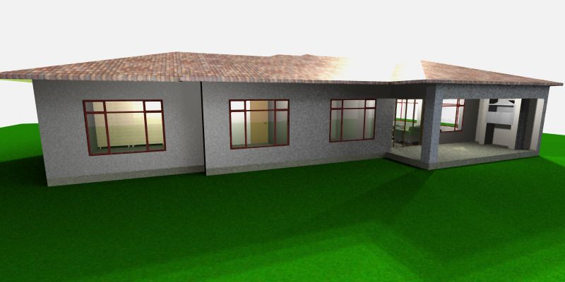 3 Bedroom Townhouse - JDP103 - SA Houseplans on house plans in uk, house plans in pa, house plans in ms, house plans in nc, house plans in pk, house plans in mn, house plans in mt,